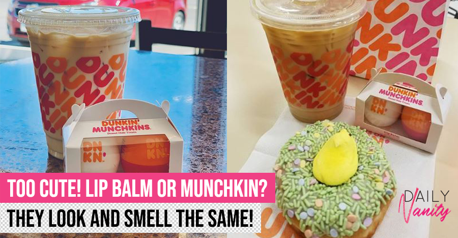 A lip balm that look and smell like a Dunkin' Donuts munchkin?! We want it on our lips!