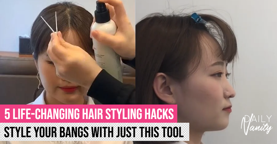 Hair Clip Styling Hack Header