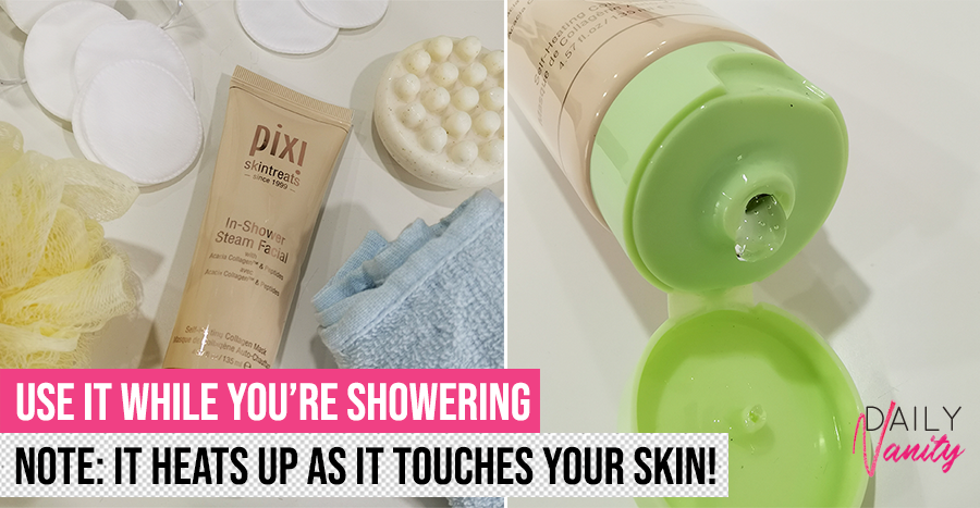 Pixi In Shower Steam Facial Review Featured