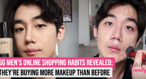 Singapore Men Makeup Shopping
