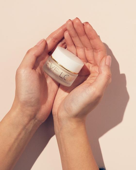 Radiance Antioxidant Eye Cream Product In Palms