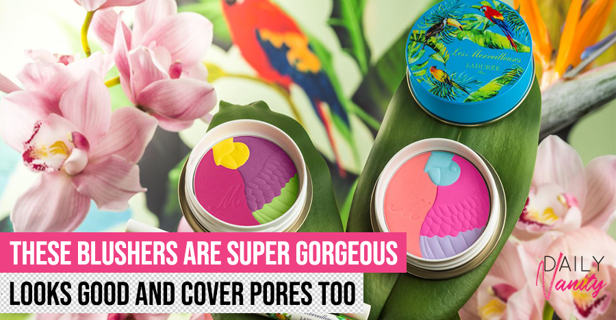 This must be the prettiest blusher we've seen this year – and it provides coverage for pores!