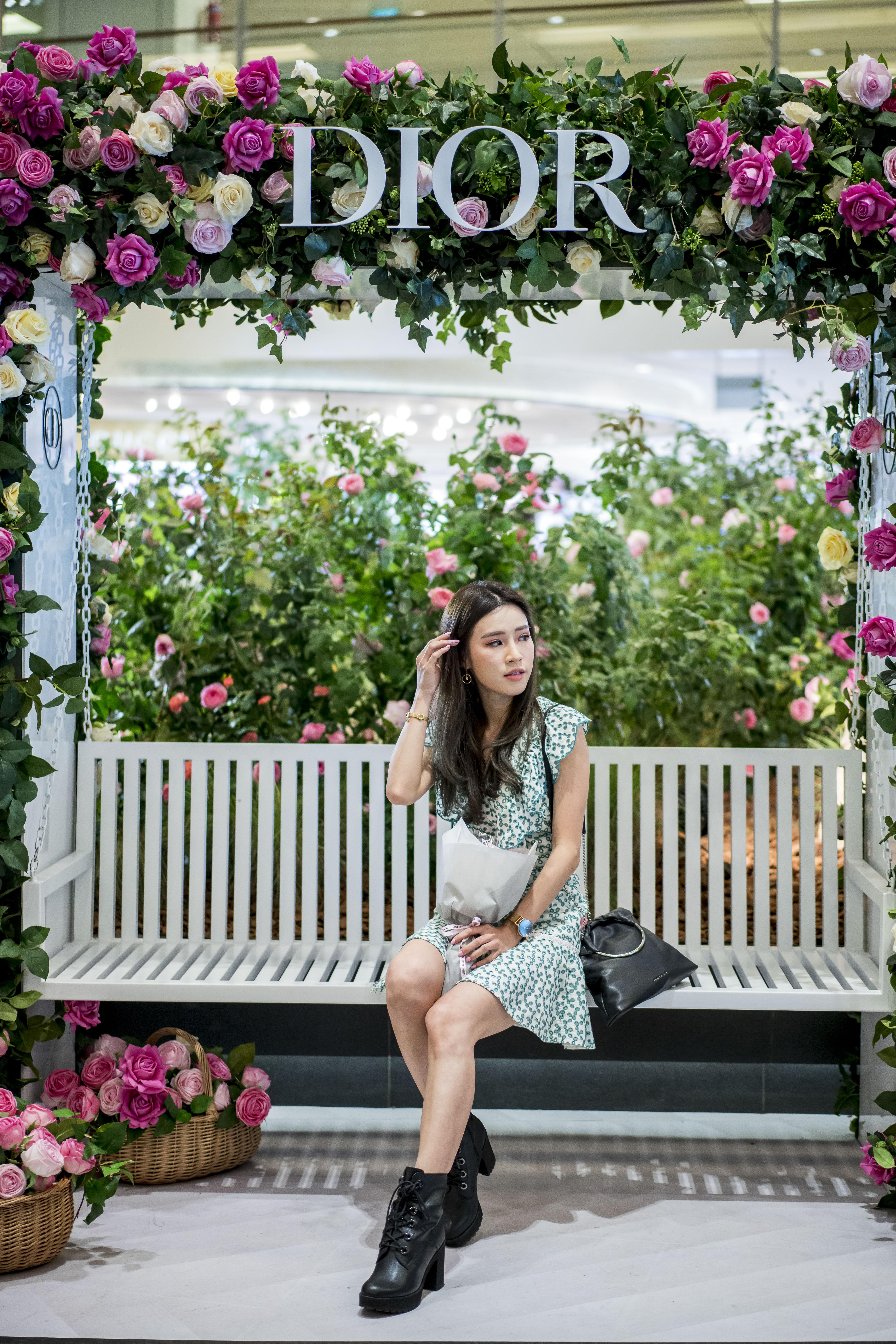 Dior Les Parfums Changi Airport Pop Up 3