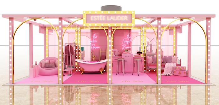 Estée Lauder Lip Lounge Pop Up 1