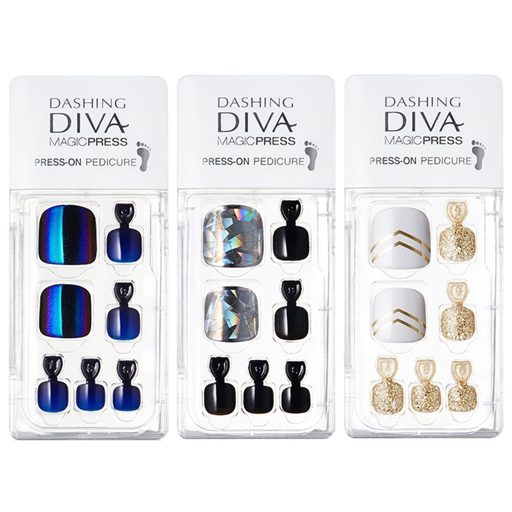 Olive Young Bestsellers Dashing Diva Magic Press Pedicure