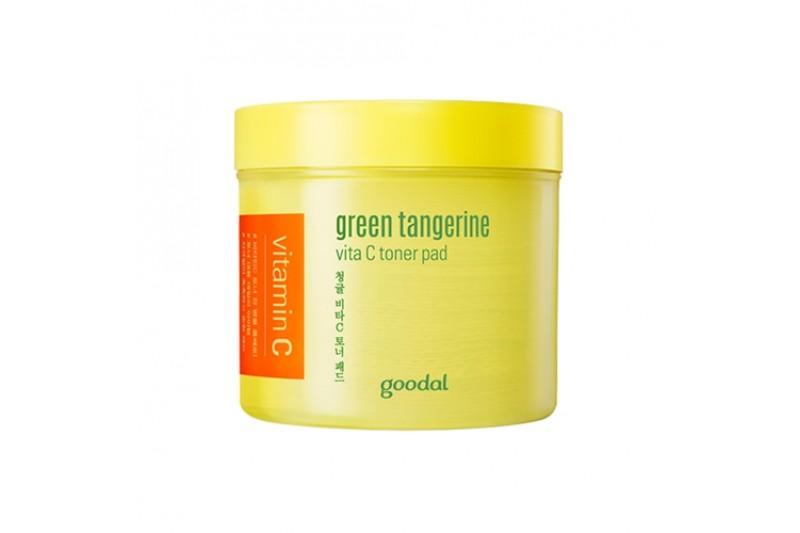 Olive Young Bestsellers Goodal Green Tangerine Vita C Toner Pad