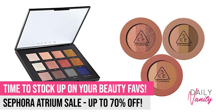 Sephora Atrium Sale Featured