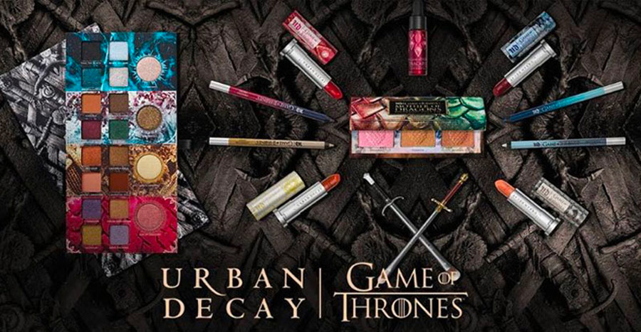 Urban Decay Game of Thrones Makeup Collection Giveaway Winner