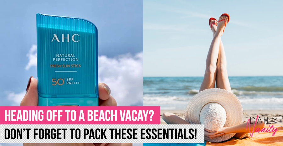 12 beauty essentials you should have for your beach getaway or risk having a bad time!