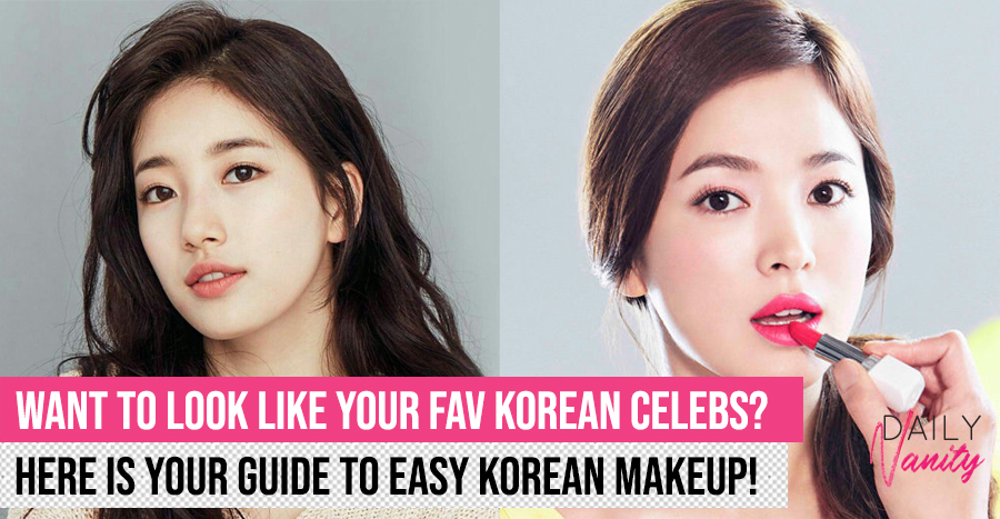Quick and easy Korean makeup tutorial for beginners (2019 edition