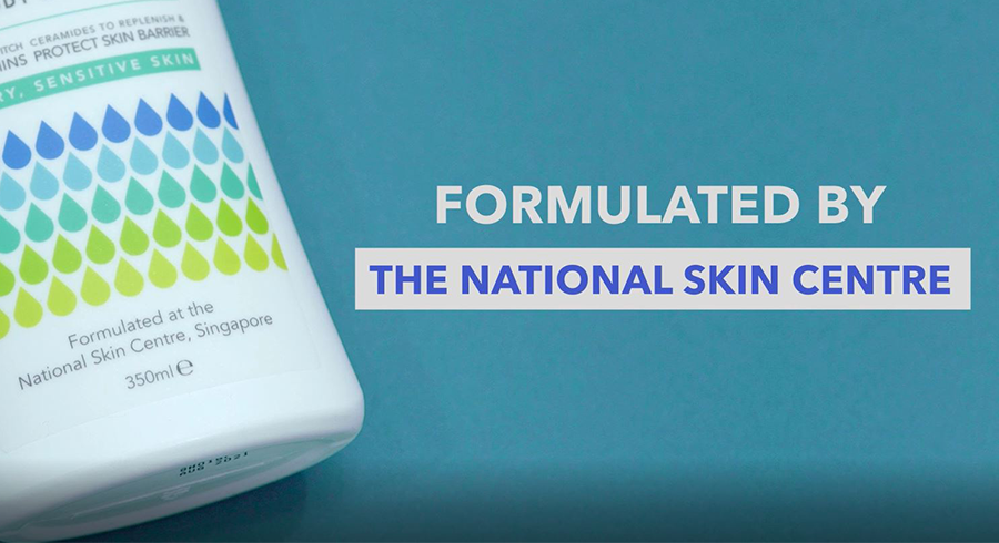 Here's a product to try if you have dry, itchy, and ezcema-prone skin