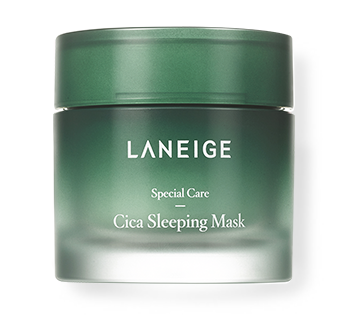 Cica Skincare Products Laneige Cica Sleeping Mask