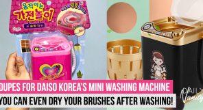 Daiso Washing Machine Dupe Featured