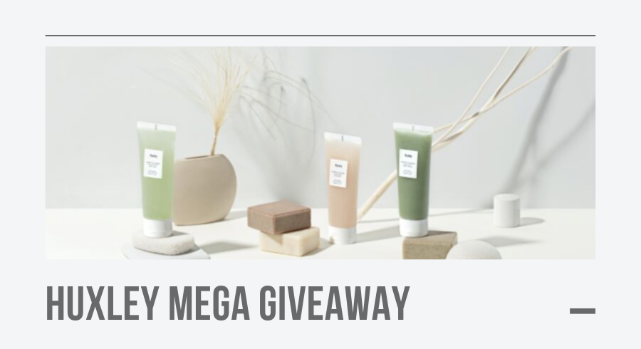 MEGA GIVEAWAY: 50 sets of Huxley's must-have Spa Set Trio worth $120!