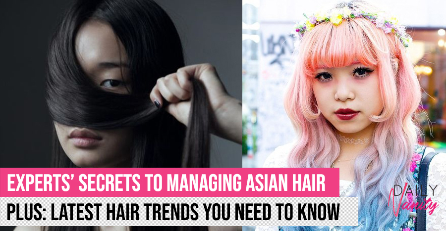 World-renowned hairstylist shares tips for caring and styling Asian hair, plus latest hair trends!