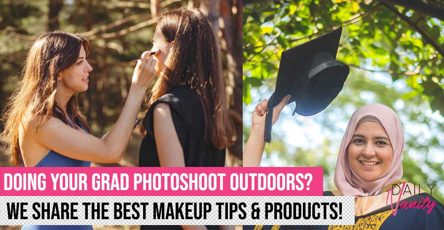 Best makeup tips and beauty products for outdoor photoshoots so that you'll look great on camera