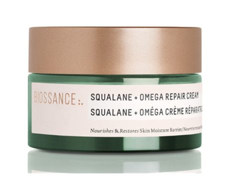 Best Moisturisers For Glowing Skin Biossance Squalane Omega Repair Cream