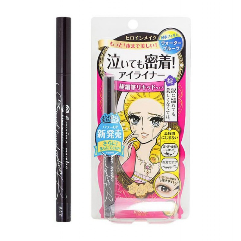 Best Tips And Products For Outdoor Photoshoots Kiss Me Heroine Make Smooth Liquid Eyeliner