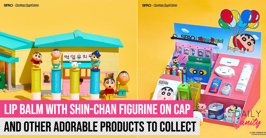 Crayon Shin Chan Spao Beauty Collection Featured