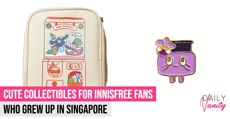 Innisfree collaborates with Singaporean artist for first time to launch local-flavoured merchandise