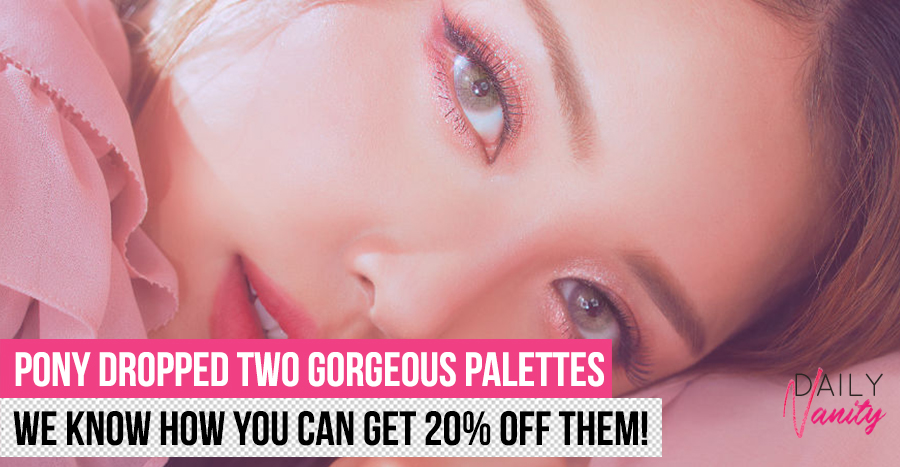 Etude House x Pony palettes are here and we're obsessing over their colours!