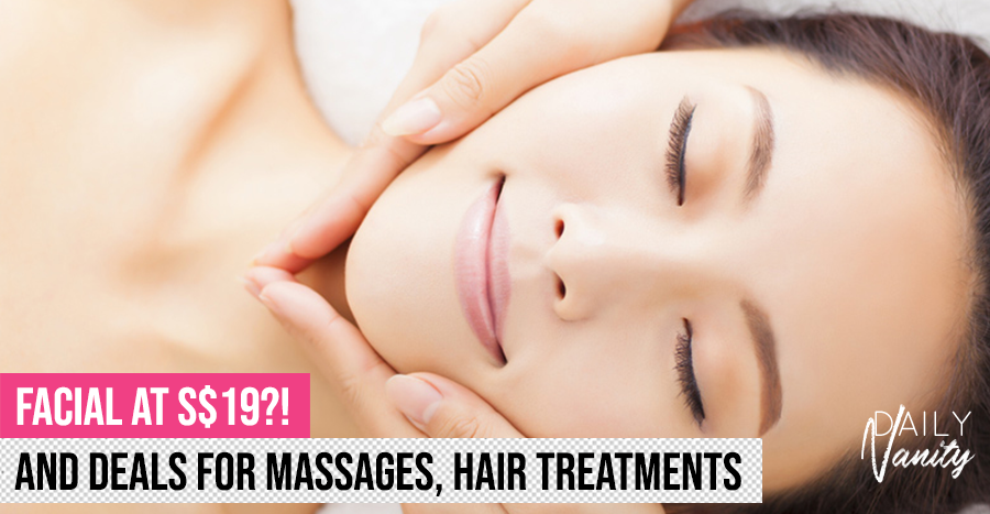 Recharge and be rejuvenated with the best salon deals for final half of 2019 – starting from only S$19!