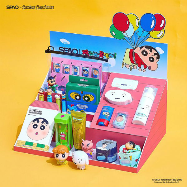 Spao Crayon Shin Chan Collection 1