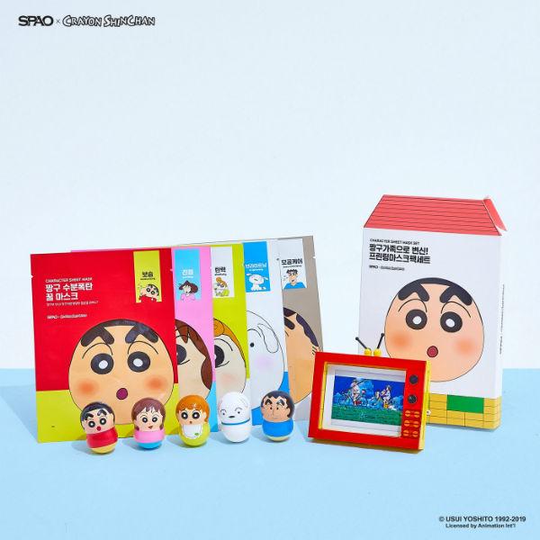 Spao Crayon Shin Chan Sheet Masks