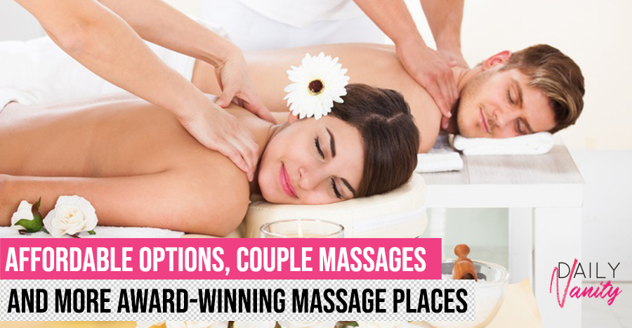 25 places to go for the best massages in Singapore – there's something for every budget!