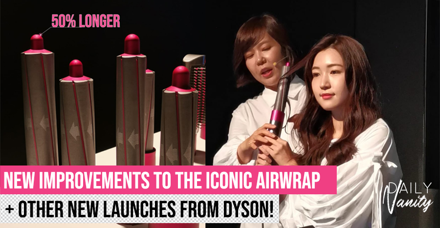Dyson introduces longer barrels to its Airwrap that shorten time for curling long hair