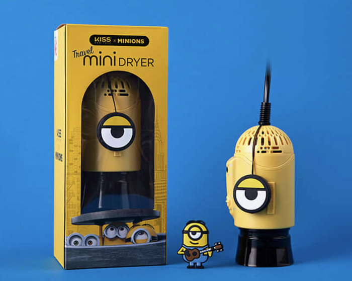 Kiss New York X Minions Hairdryer