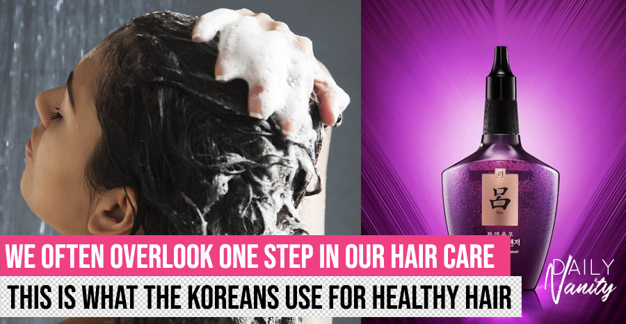 Here's the Korean solution to an often overlooked hair care step, and it addresses multiple hair troubles