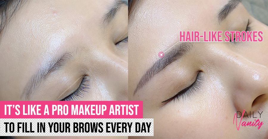 This brow embroidery studio takes at most 2 customers per session and they guarantee no hardselling