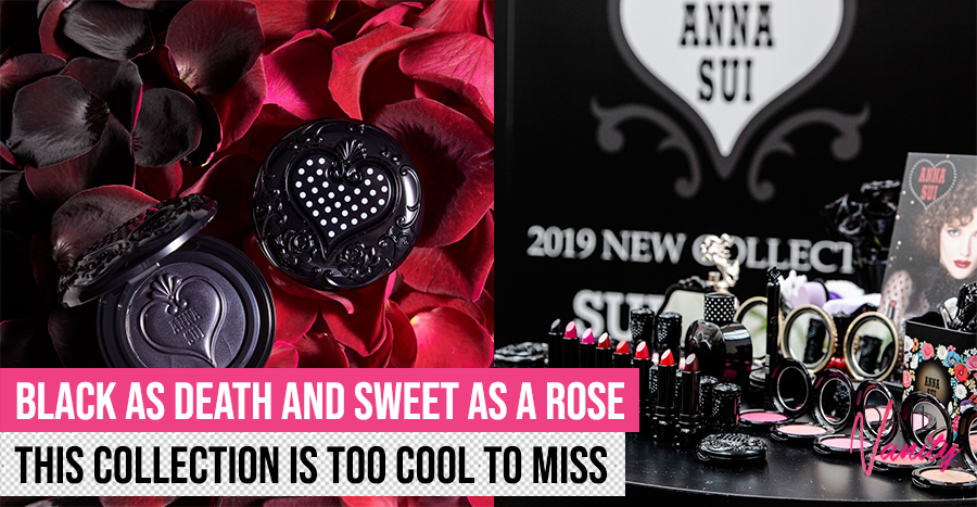 Anna Sui launches a shade-transforming black cream blush that we can't wait to apply on our cheeks!
