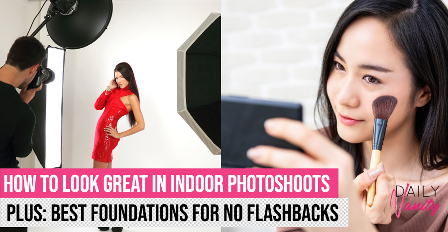 Best makeup tips and foundations for flash photography in indoor studio photoshoots