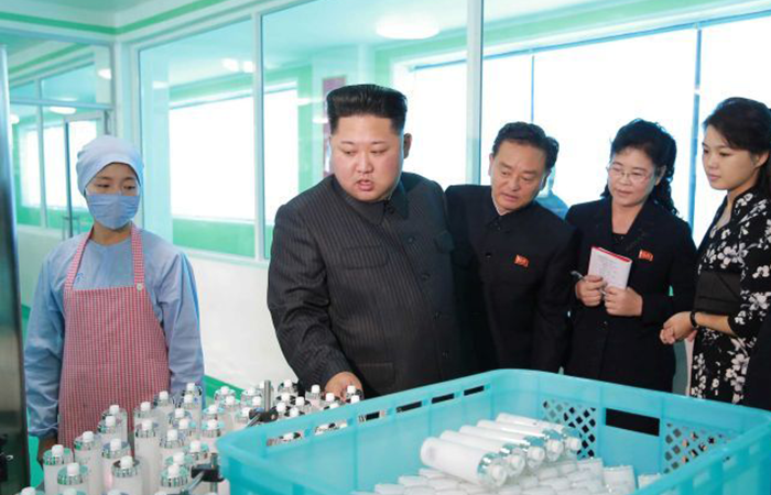 North Korean Beauty Products