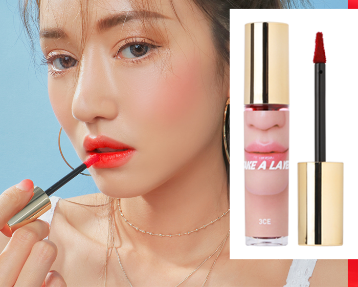 3ce Take A Layer Tinted Water Lip Tint In Iron Red