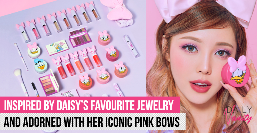 Etude House's new Daisy Duck collection is sparkly, glittery, and you need to check out the liquid eyeshadow!