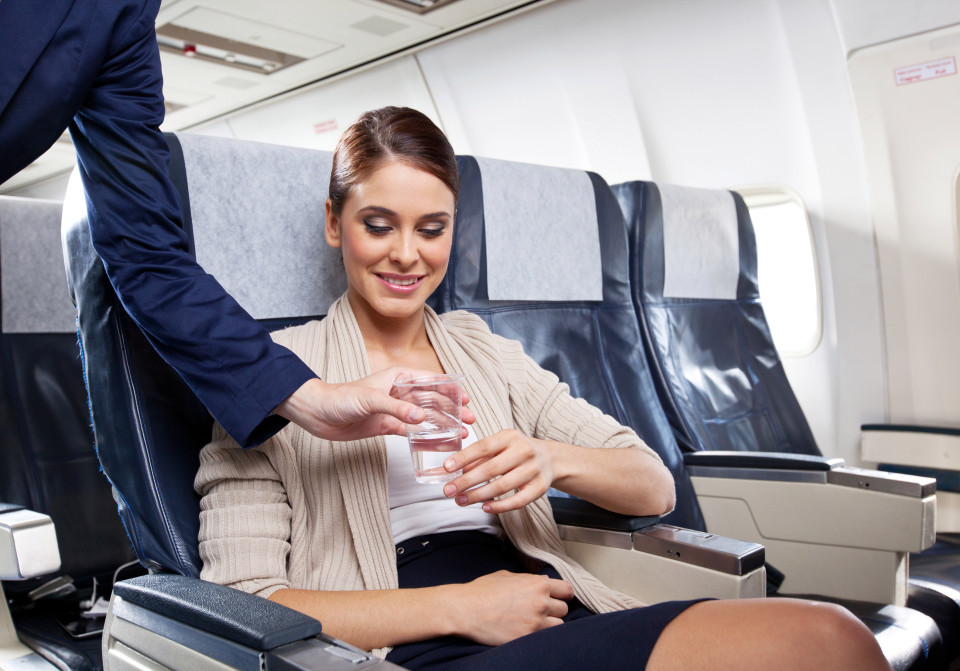 Inflight Hair Care Drink Water