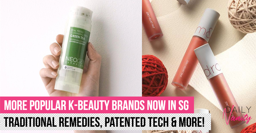 Get your wallets ready, because these 14 K-beauty brands are now available in Singapore!