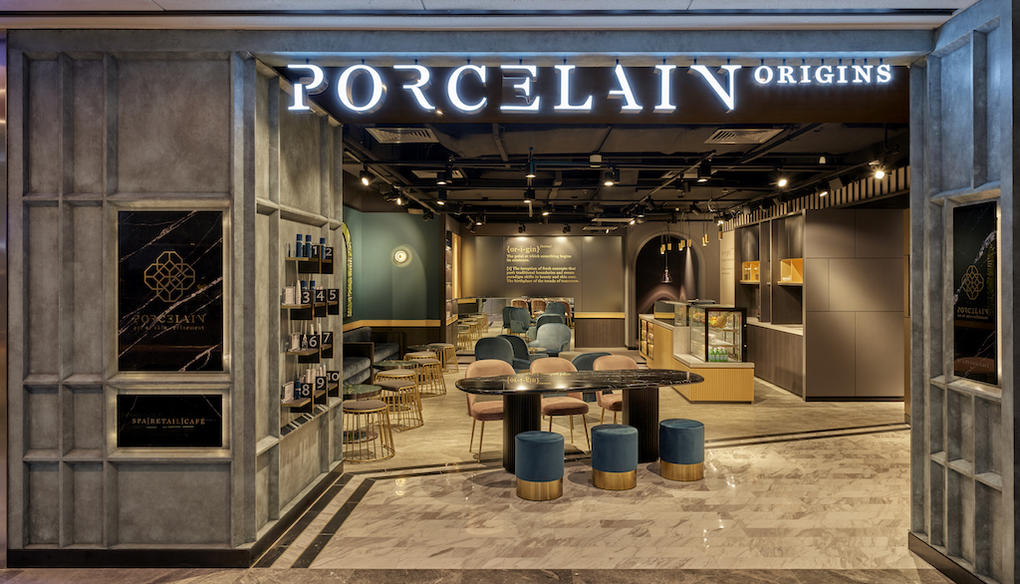 Porcelain Origins Interior