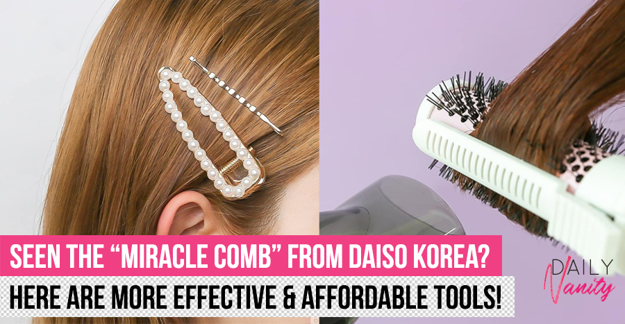 These are the best (under SGD3.50!) hairstyling tools and accessories to buy from Daiso Korea