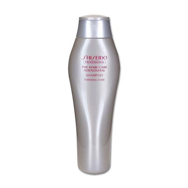 Best Products For Hair Loss Hair Thinning Shiseido Professional Adenovital Shampoo