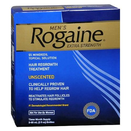 Best Products For Hair Loss Or Hair Thinning Regaine Extra Strength Hair Loss Treatment 5 Minoxidil Solution