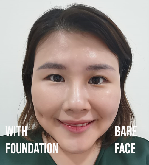 Fenty Beauty Hydrating Foundation Review Before After