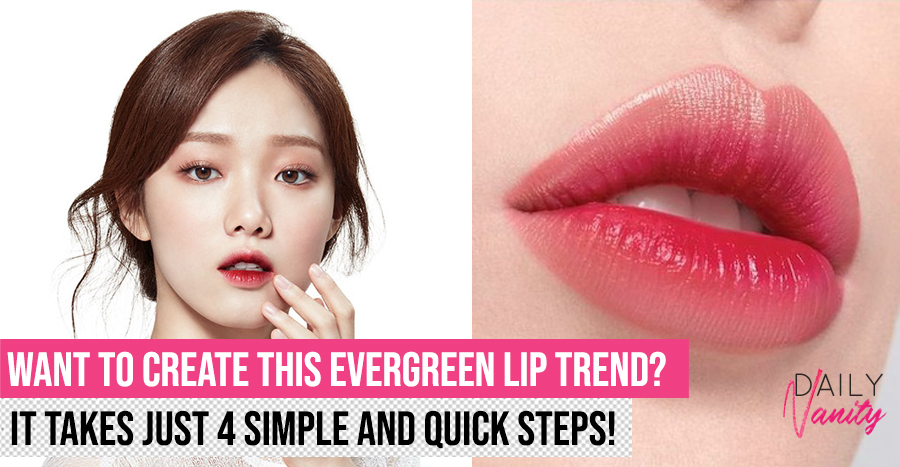 4 easy and fast steps to get Korean gradient lips for beginners (2020 edition)