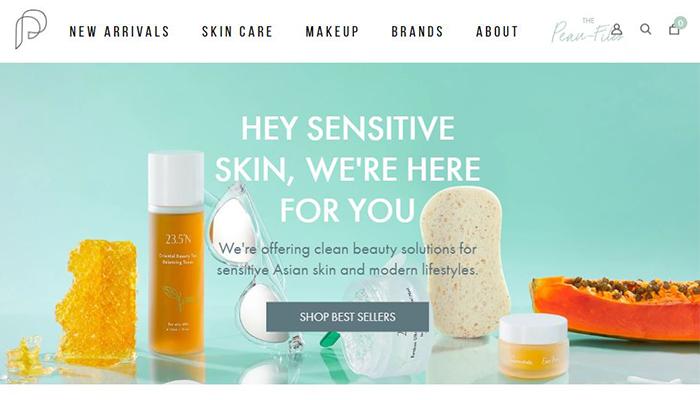 Peau Peau Beauty Website