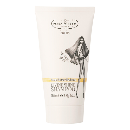 Travel Sized Beauty Products Percy Reed Mini Divine Shine Shampoo