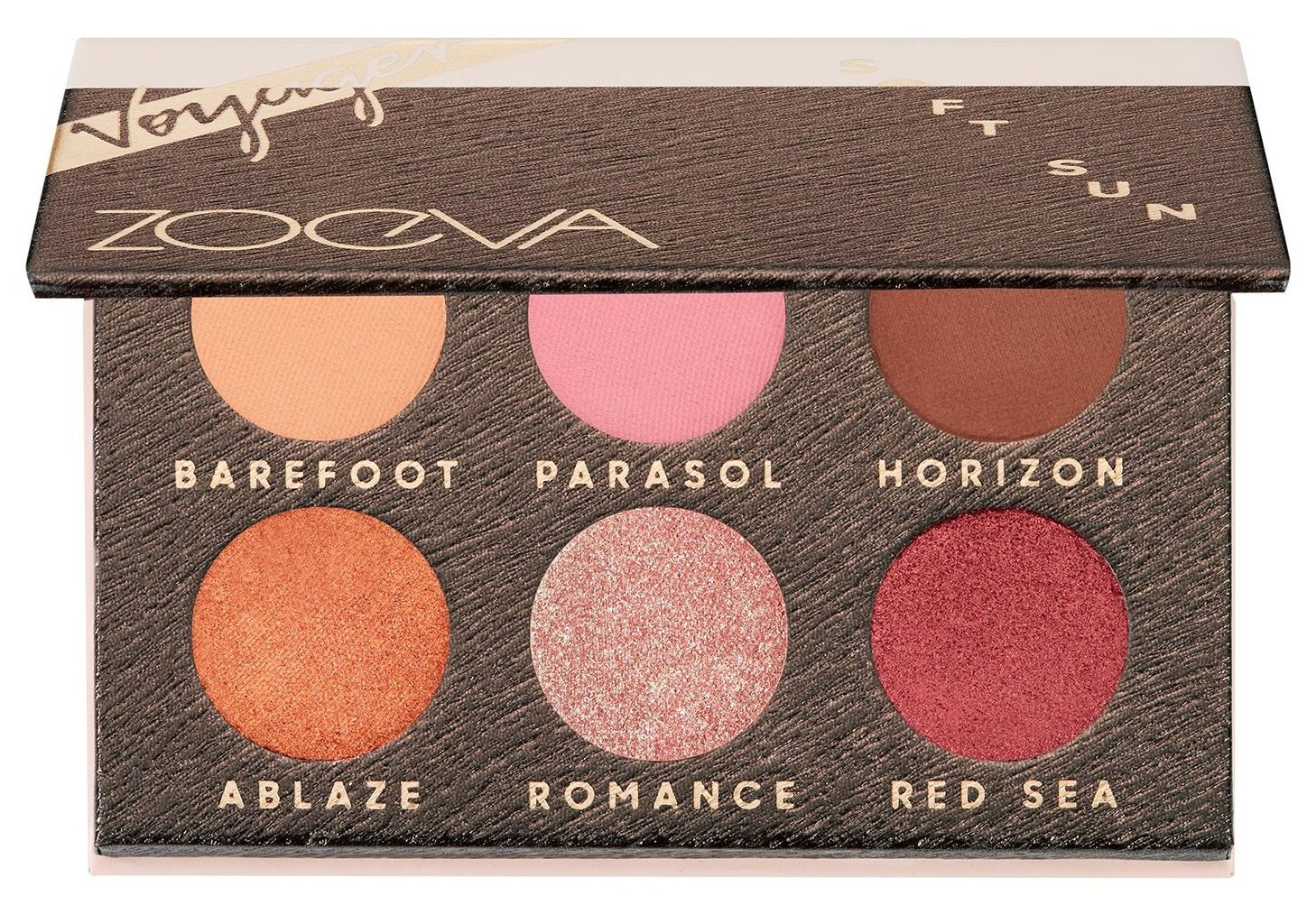Travel Sized Beauty Products Zoeva Soft Sun Voyager Eyeshadow Palette