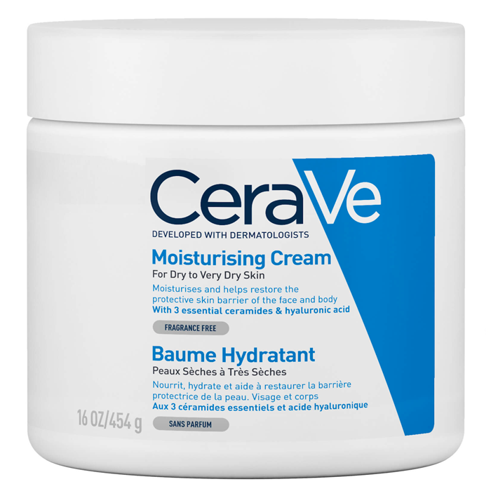 moisturisers for sensitive skin Cerave Moisturizing Cream